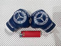 Подвеска боксерские перчатки Mercedes Benz синие в авто