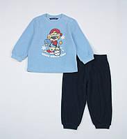 Пижама Original Marines для мальчика 12 мес сине-голубая API0920NO