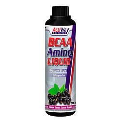Амінокислоти ACTIWAY BCAA Amino Liquid Cassis 500 ml