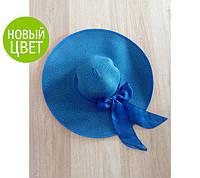 """Женская шляпа с широкими полями и бантом """"Иветти"""""""