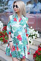 Платье свободного кроя / москреп / Украина, фото 1
