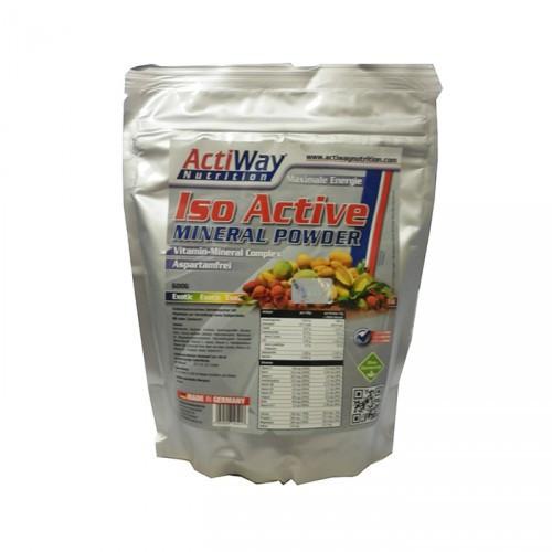 Изотоник ACTIWAY Iso Mineral Powder 600 g