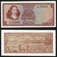 Южная Африка (ЮАР) 1 rand 1973-75 Pick 116 UNC
