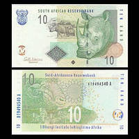 Южная Африка (ЮАР) / South Africa 10 rand 2009 UNC