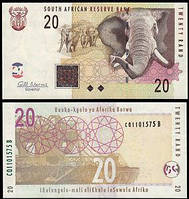 Южная Африка (ЮАР) / South Africa 20 rand 2009 UNC
