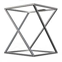 Подстолье металлическое для стола Лофт Loft. Мебельный каркас из металла. Основание. База. Опора