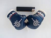 Подвеска боксерские перчатки DAF синие в авто