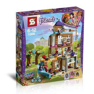 """Конструктор SY1006 """"Friends Дом дружбы"""" (реплика Lego Friends 41340), 767 дет"""