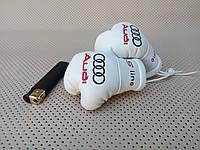 Подвеска боксерские перчатки Audi S-Line белые в авто