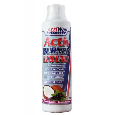 Жиросжигатель ACTIWAY Activ Burner Liquid Cassis 500 ml
