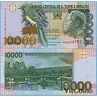 Сан - Томе і Прінсіпі 10000 dobras 2004 Pick 66b UNC