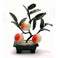 Дерево персик (3 плода)(18х19х7 см)