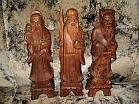 Статуэтки деревянные МОНАХИ статуэтка дерево старина эксклюзив раритет