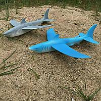 Акула планер инерционный метательный игрушка