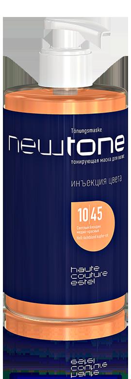 Тонирующая маска для волос Estel Newtone 10/45 светлый блондин медно-красный  435 ML