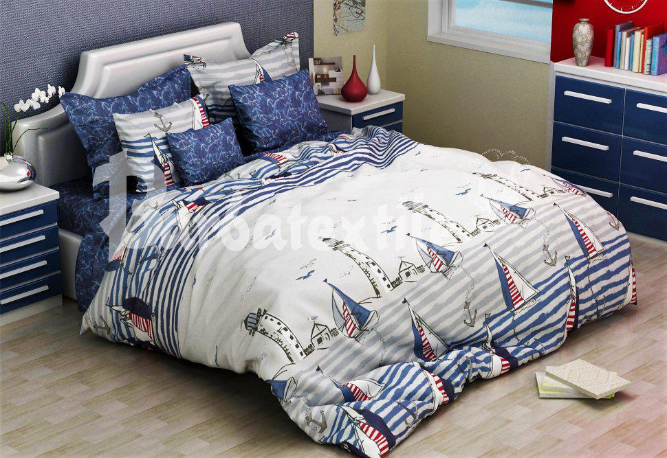 Семейный комплект постельного белья фрегат - Потребительский Рай в Хмельницком