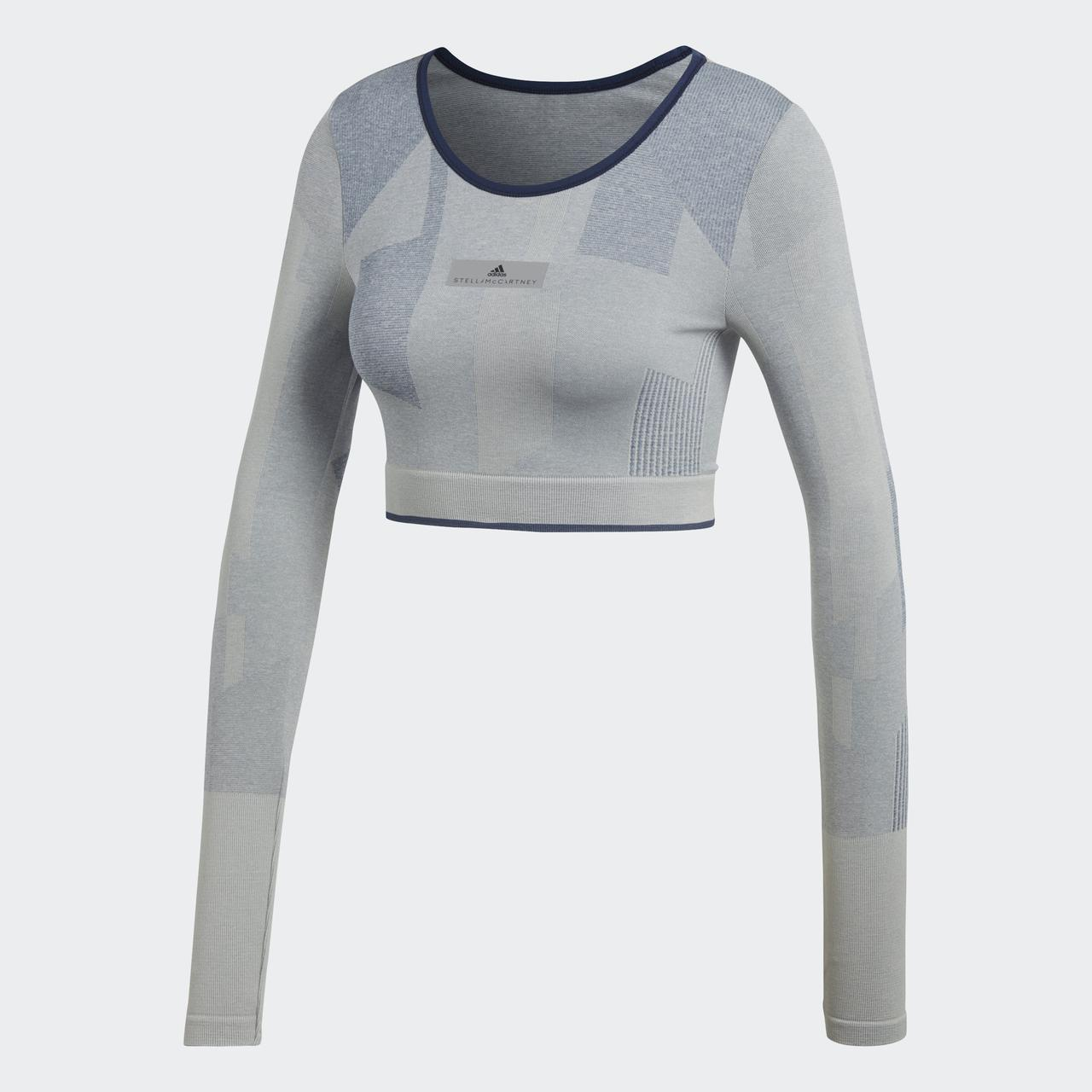 Женский лонгслив Adidas By Stella McCartney Training Seamless Block (Артикул: CE8438)