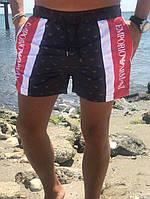 Модные пляжные шорты армани