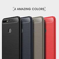 TPU чехол накладка Urban для Huawei Y7 Prime(2018) (4 цвета)