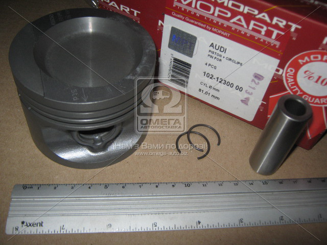 Поршень VAG 81.01 1.8 (Mopart) 102-12300 00