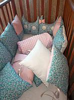 Детское постельное белье в кроватку совы