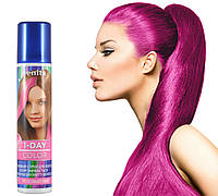 Розовая спрей-краска для волос Venita 1-day color временная баллончик аэрозоль 50 мл, фото 1