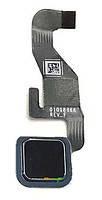 Шлейф для Motorola XT1650-02 Moto Z Force, с кнопкой меню (Home), черного цвета