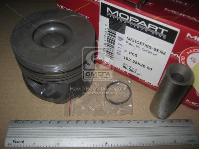 Поршень MB 89.00 OM602.980 2.9 TD (Mopart) 102-25520 00