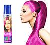 Ярко-розовая спрей-краска для волос Venita 1-day color временная баллончик аэрозоль 50 мл
