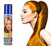 Золотая спрей-краска для волос Venita 1-day color временная баллончик аэрозоль 50 мл