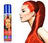 Красная спрей-краска для волос Venita 1-day color временная баллончик аэрозоль 50 мл