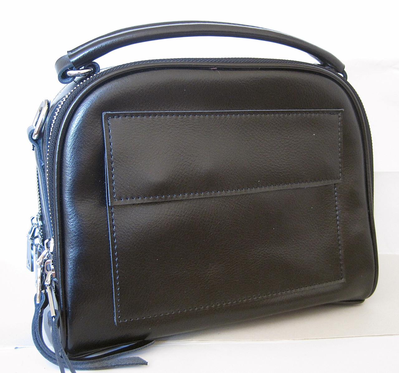 Женский кожаная сумка клатч 2087 Black Женская кожаная сумка, кожаный женский  клатч b1dcfc4a140