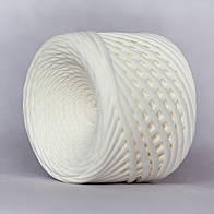 Трикотажная пряжа (5-7 мм) цвет Кремовый