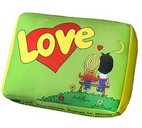 Подушка Love is салатова, фото 1
