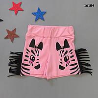 """Летние шорты """"Зебра"""" для девочки. 3-4 года"""