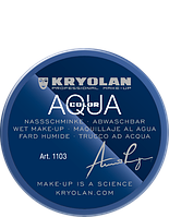 Синий  аквагрим AQUACOLOR 55мл(оттенок 091)