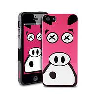 Чехол-накладка PURO Crazy Zoo for iPhone 5/5S Pig (IPC5PIG)
