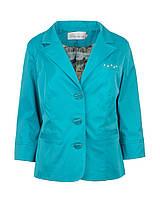 Женский пиджак больших размеров Жемчуг, фото 1