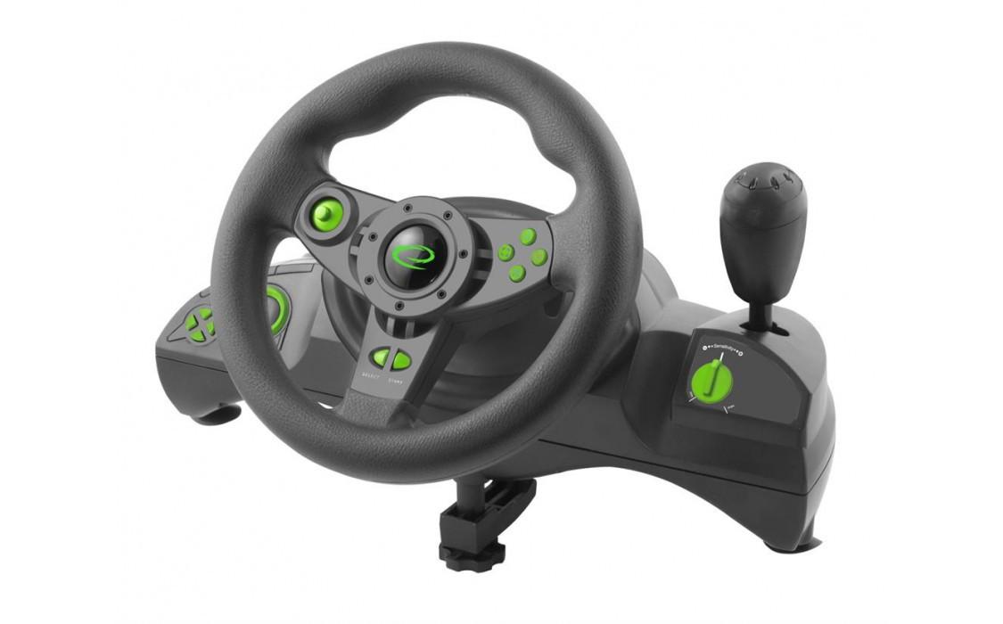 Игровой руль Esperanza EGW102, для компьютера пк ігровий руль