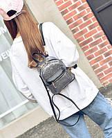 Женский рюкзак Barbie серый, фото 1