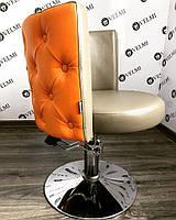 Кресло клиента  Ice Queen  Желтое
