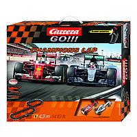 Автотрек Чемпионы, длина трассы 4.3м, CR-20062428, Carrera