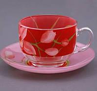 Набор чайный 12пр. Red Orchis Luminarc 0670g