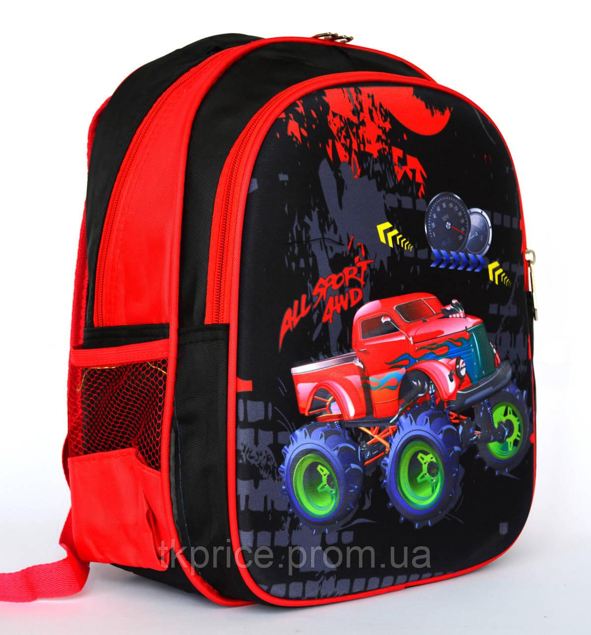 83e5aeedb308 Школьный рюкзак с ортопедической спинкой и с 3Д рисунком - Интернет-магазин