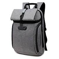 Рюкзак для ноутбука  Ozuko серый, фото 1