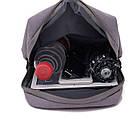 Сумка рюкзак Picano серая, фото 10