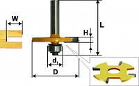 Фреза кромочная фальцевая ф50.8х2, хв.8мм (арт.10561)