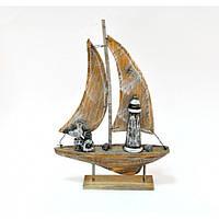 Корабль AE201001, размеры - 34*23*5 см, морская тематика, морские сувениры, сувенир