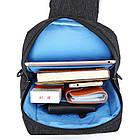 Сумка рюкзак Picano темно серая, фото 7
