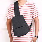 Сумка рюкзак Picano темно серая, фото 8